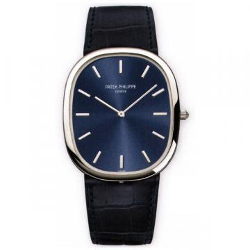 Patek Philippe Platinum Men Golden Ellipse Watch