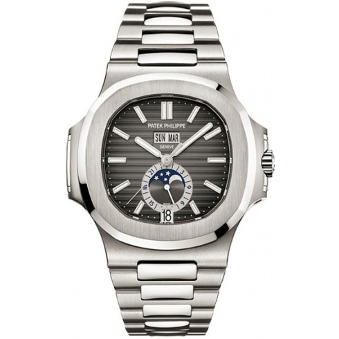 Patek Philippe Stainless Steel Men Nautilus Watch