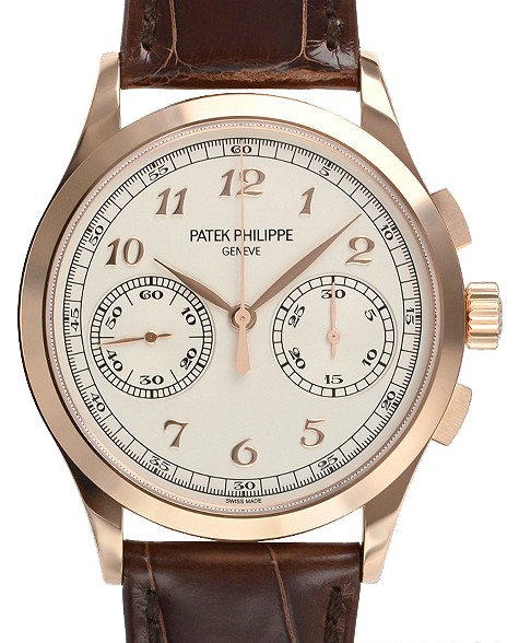 Patek Philippe Rose Gold Men Complications Chronograph