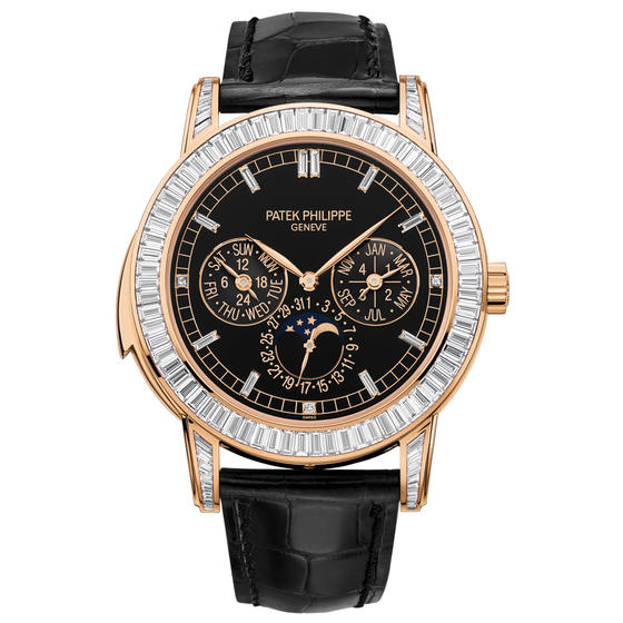 Patek Philippe Rose Gold Men Grand Complications Watch