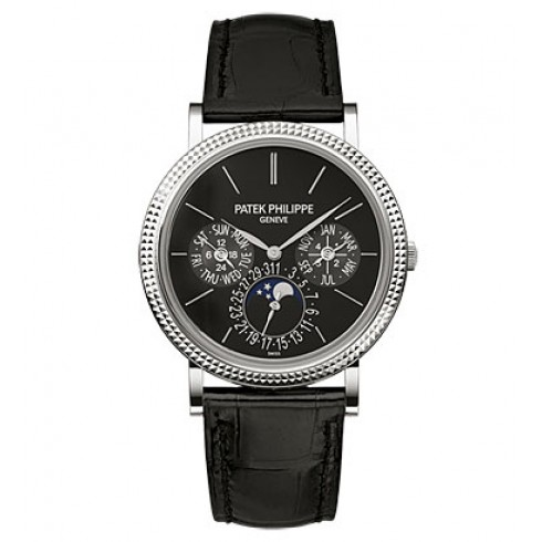 Patek Philippe White Gold Men Grand Complications Chronograph
