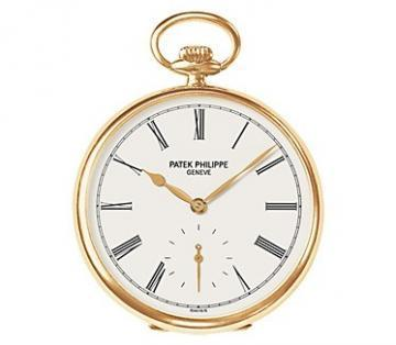 Patek Philippe Yellow Gold Men Lepine Pocket Watch