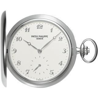 Patek Philippe White Gold Men Hunter Pocket Watch