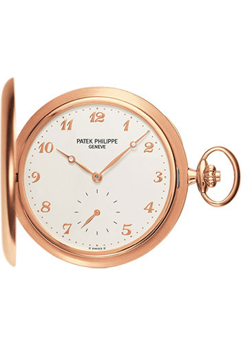Patek Philippe Rose Gold Men Hunter Pocket Watch