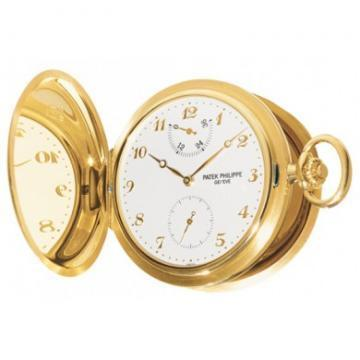 Patek Philippe Yellow Gold Men Hunter IRM Pocket Watch