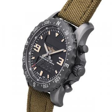 Breitling Blacksteel Chronospace Military Chronograph