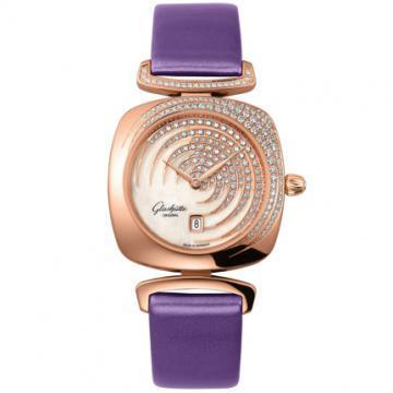 Glashütte Original Pavonina Rose/Red/Pink Gold Women's Watch