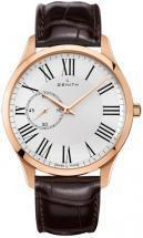 Zenith CAPTAIN Ultra Thin Rose/Red/Pink Gold Dial Men's Watch