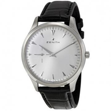 Zenith CAPTAIN Ultra Thin Silver Gray Dial Men's Watch