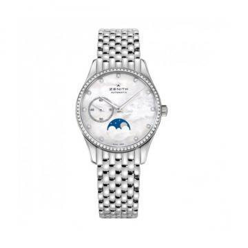 Zenith Elite Ultra Thin Lady Moonphase Women's Watch