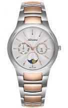 Adriatica Moonphase for Her Steel Case and Bracelet Rosegold Bicolour Watch