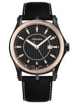 Adriatica Premiere Steel Case Black Rosegold Men's Watch