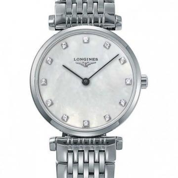 Longines La Grande Classique Mother-of-Pearl White Women's Watch