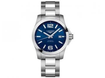Longines Conquest Blue Dial Men's Watch