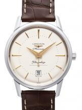 Longines Heritage Collection White Dial Men's Watch
