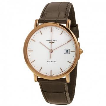 Longines Elegant White Dial Men's Watch