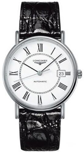 Longines Presence White Dial Men's Watch