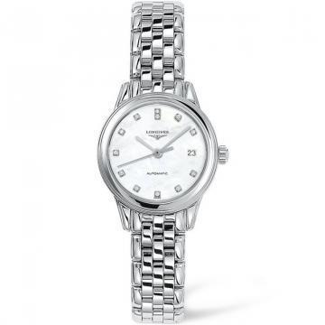 Longines Flagship Mother-of-Pearl White Dial Women's Watch
