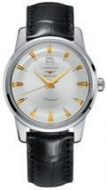 Longines Heritage Collection Silver Gray Dial Men's Watch
