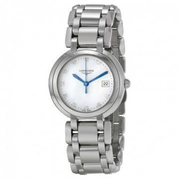 Longines PrimaLuna Mother-of-Pearl White Dial Women's Watch