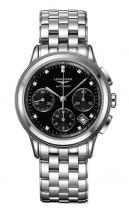 Longines Flagship Black Dial Chronograph