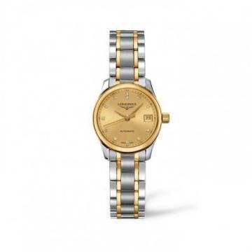 Longines Master Collection Champagne Dial Women's Watch