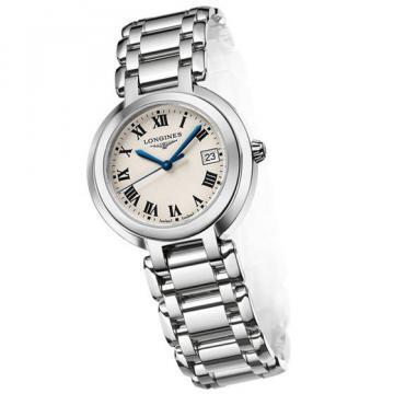 Longines PrimaLuna White Dial Women's Watch