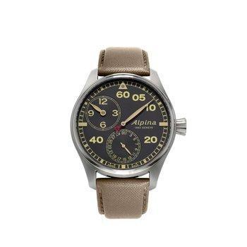 Alpina Startimer Pilot Manufacture Regulator Watch