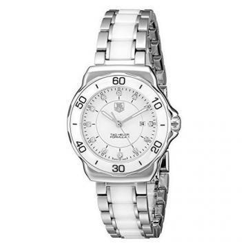 TAG Heuer Formula 1 Steel and Ceramic Diamond Dial 32mm Women's Watch