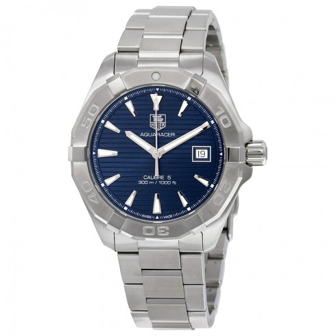 TAG Heuer Aquaracer Calibre 5 300M Blue Dial Watch