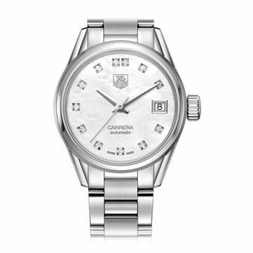 TAG Heuer Carrera Calibre 9 Diamond Dial Watch