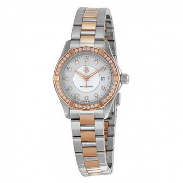TAG Heuer Aquaracer Steel & Rose Gold 27mm Watch