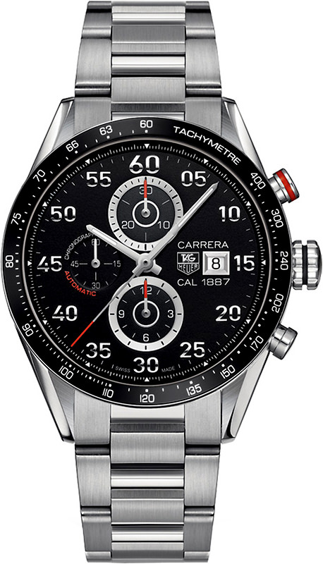 TAG Heuer Carrera Calibre 1887 Black Dial Chronograph