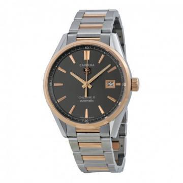 TAG Heuer Carrera Calibre 5 Steel & Rose Gold Watch