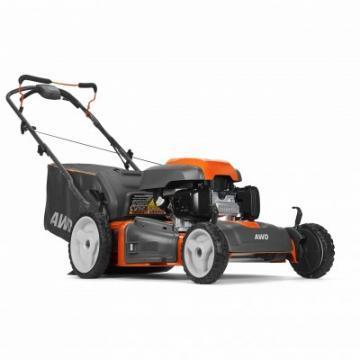 Husqvarna 3-In-1 Self-Propelled Lawn Mower, All-Wheel Drive, 190cc, 22""