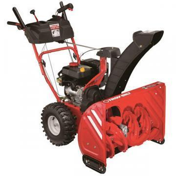 "Troy-Bilt Gas Snow Blower, 2-Stage, 243cc Engine, 26"". Path"