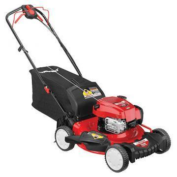 Troy-Bilt 3-In-1 Self-Propelled Gas Lawn Mower, 163cc Engine, 21""