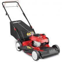 Troy-Bilt Self-Propelled Gas Lawn Mower, 3-n-1, 150cc Engine, 21""