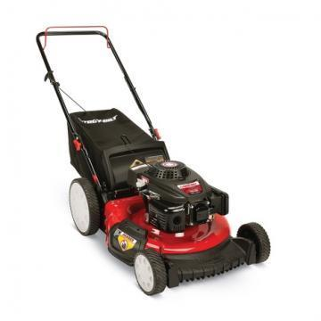 Troy-Bilt 3-In-1 Gas Push Lawn Mower, High-Wheel, 140cc Engine, 21""