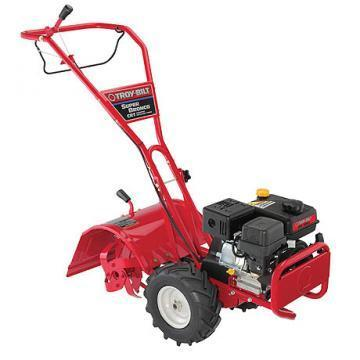 Troy-Bilt Bronco Rear Tine Tiller, 208cc Engine, Counter Rotating Tines