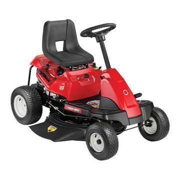 "Troy-Bilt Riding Lawn Tractor, 420cc Rear Engine, 6-Speed, 30"" Deck"