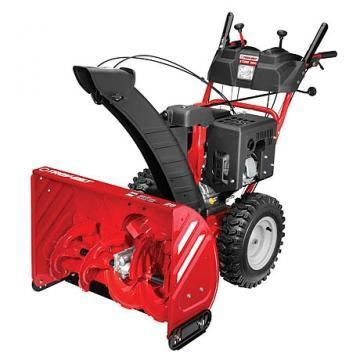 "Troy-Bilt Gas Snow Blower, 2 Stage, 357cc Electric Start Engine, 30"" Path"