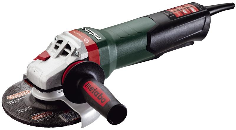 "Metabo 14-Amp Paddle-Switch Angle Grinder with 6"" Wheel"