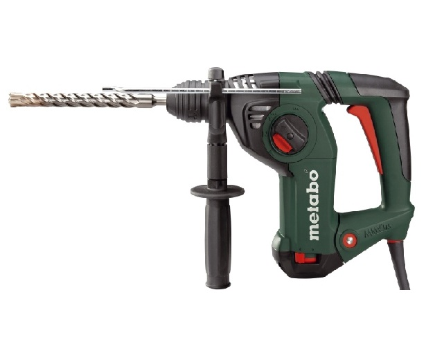 Metabo SDS Plus Rotary Hammer Kit, 8.5A, 0-4470 Blows per Minute, 120V