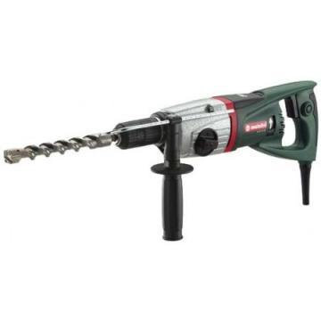 Metabo SDS Plus Rotary Hammer Kit, 8.2A, 0-4600 Blows per Minute, 120V