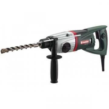 Metabo SDS Plus Rotary Hammer Kit, 5.6A, 0-4600 Blows per Minute, 120V