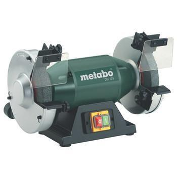 "Metabo 1/2 HP Bench Grinder, 120V, 1 Phase, 3.7A, 7"" Wheel"