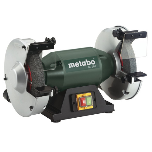 "Metabo 1 HP Bench Grinder, 120V, 1 Phase, 4.8A, 8"" Wheel"