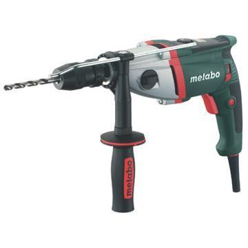 "Metabo Hammer Drill Kit, 1/2"", 9.2A, 0-53000bpm"