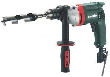"Metabo 1/2"" Electric Drill, 6.7A, Pistol Grip, 0-650 No Load RPM, 120V"